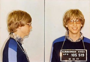 mugshot bill gates